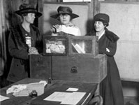 women suffrage movement